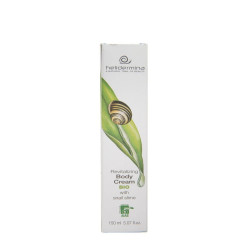Crema de corp revitalizanta cu 20% extract de melc Helidermina, BIO, La Dispensa, 150 ml