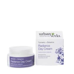 Crema de zi nutritiva cu extract de turmeric organic - ten uscat, Radiance - Urban Veda, 50 ml