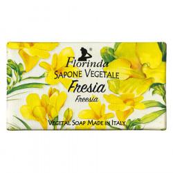 Sapun vegetal cu frezie Florinda, 100 g La Dispensa