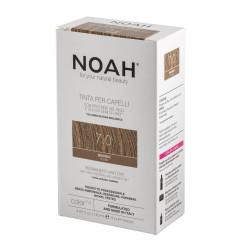 Vopsea de par naturala, Blond, 7.0, Noah, 140 ml