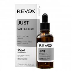 Contur de ochi JUST caffeine 5% eye contour serum, Revox, 30ml