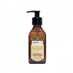 Serum protector si regenerant cu ulei de ricin pentru toate tipurile de par, Arganicare, 100 ml