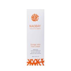 Crema hidratanta BIO pentru picioare cu extracte de unt de Shea si portocale, Orange Juice, Naobay, 100 ml