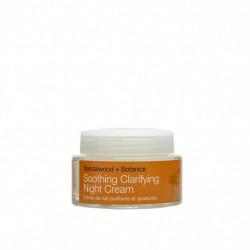 Crema hidratanta de noapte cu extract de lemn de santal organic - ten sensibil, Soothing - Urban Veda, 50 ml