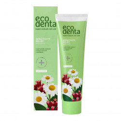Pasta de dinti pentru dinti sensibili cu extract de musetel, cuisoare si Kalident, Ecodenta, 100ml