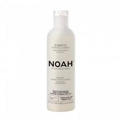 Sampon natural pentru indreptarea parului cu extract de vanilie, 1.8, Noah, 250 ml