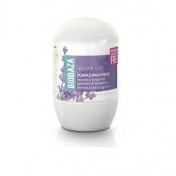 Deodorant natural pe baza de piatra de alaun pentru femei PURPLE FRESHNESS (lavanda si bergamota), Biobaza, 50 ml