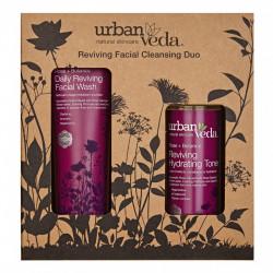 Set cadou Reviving Facial Cleansing Duo, Urban Veda