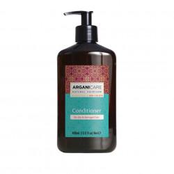 Balsam reparator si hidratant cu ulei de argan, pentru par uscat si deteriorat, Arganicare, 400 ml