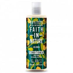 Balsam natural calmant cu jojoba, pentru par normal si deteriorat, Faith in Nature, 400 ml