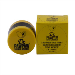 Exfoliant & Balsam pentru buze,16ml, Dr PawPaw