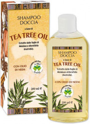 Sampon gel de dus hidratant cu ulei din arbore de ceai si ulei de neem, La Dispensa, 200 ml