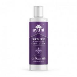 Lotiune de corp cu Turmeric & Unt de Shea, Ayumi, 250 ml