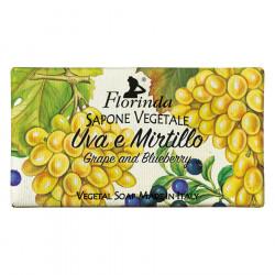 Sapun vegetal cu struguri si afine Florinda, La Dispensa, 100g