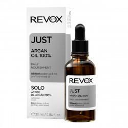 Ulei fata JUST argan oil 100% daily nourishment, Revox, 30ml