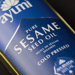 Ulei pur de susan presat la rece, AYUMI, 150 ml