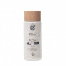 After shave BIO hidratant cu ulei de argan, jojoba si dovleac, All in One - Naobay, 100 ml