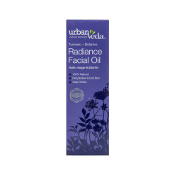 Ulei facial pentru ten uscat, Radiance - Urban Veda, 30 ml