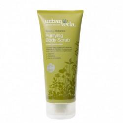 Exfoliant pentru corp cu ulei de neem organic, Purifying - Urban Veda, 200 ml