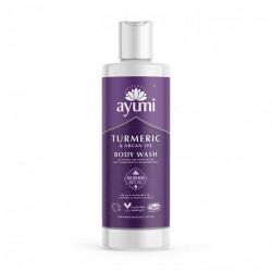 Gel de dus cu Turmeric & Ulei de Argan, Ayumi, 250 ml