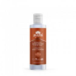 Lotiune tonica cu extract de santal & aloe - Ayumi, 150 ml