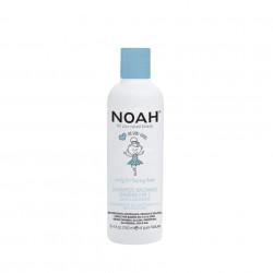 Sampon & balsam 2 in 1 cu lapte & zahar pentru copii , Noah, 250 ml