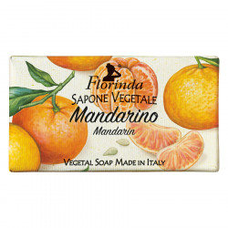 Sapun vegetal cu mandarine Florinda, 100 g La Dispensa