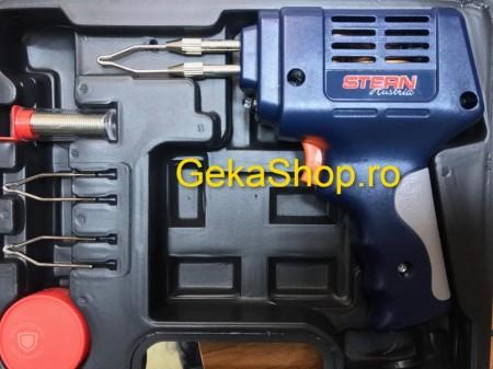 Pistol de lipit pentru fludor, cositor, SLD175A, putere 175W,