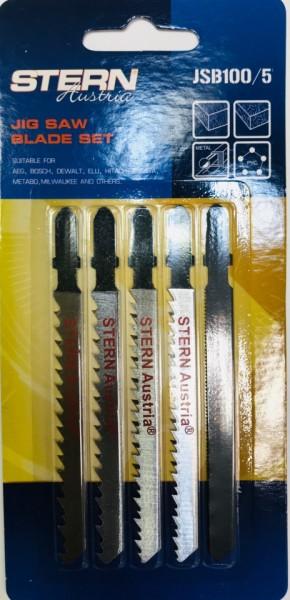 Set 5 lame fierastrau pendular JSB100/5