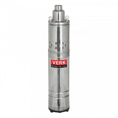 Pompa submersibila pentru apa curata Verk, 1100W, 2280 L/min ,V4P-1100A