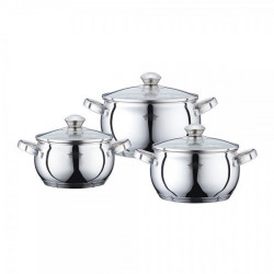 SET CRATITE INOX CU CAPAC 6P (2.1+3+4) PH-15832