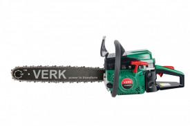 Drujba pe benzina Verk VCS6000A, 5 Cp, 58 cmc, 2 lame 45 cm, 2 lanturi