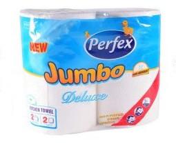 Bax prosop hartie Perfex Deluxe Jumbo 2 x 10