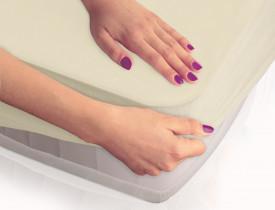 Protectie saltea si cearceaf SMARTCEL/cream 09/180x200