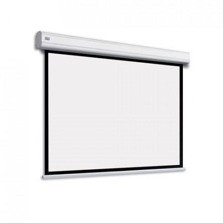 Adeo Electric Max One 5500 mm latime vizibila, disp in format 4:3, 16:10, 16:9, alb mat, fara margine neagra, incl telecomanda cu fir, optional margine neagra