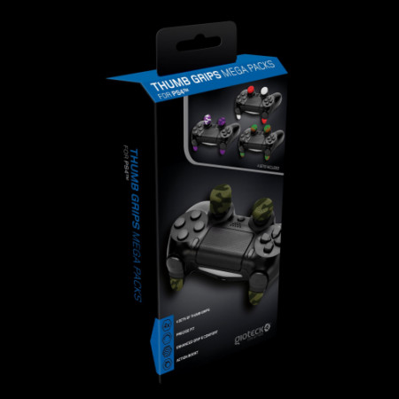 Gioteck - Thumb Grips Mega Pack for PS4 MULT PS4