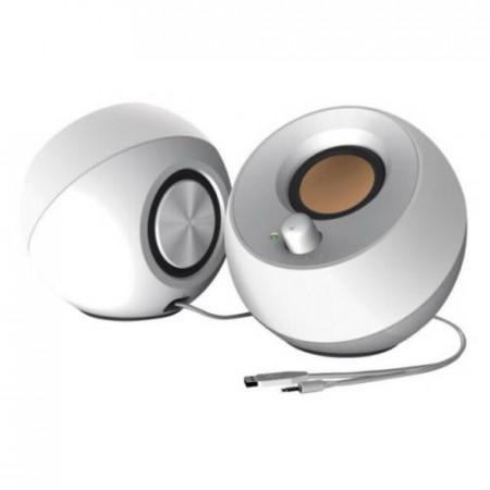 CREATIVE PEBBLE USB 2.0 Speakers - white