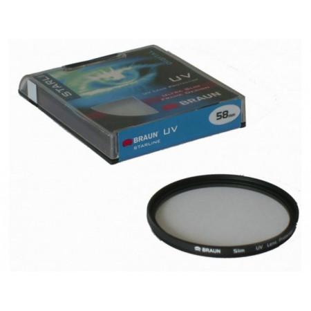 BRAUN Starline UV Filter 58 mm