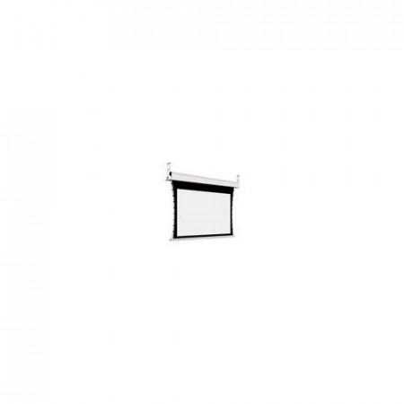 Adeo Electric Elegance 3400 mm latime vizibila, disp in format 4:3, 16:10, 16:9, alb mat, fara margine neagra, incl telecomanda cu fir, optional margine neagra
