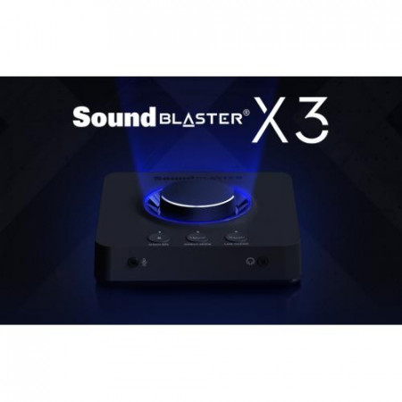 CREATIVE Sound Blaster X-3 Hi-Res 7.1 External Super X-Fi Amp