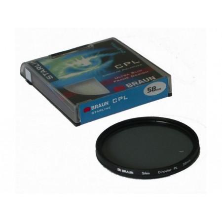 BRAUN Starline CPL Filter 62 mm
