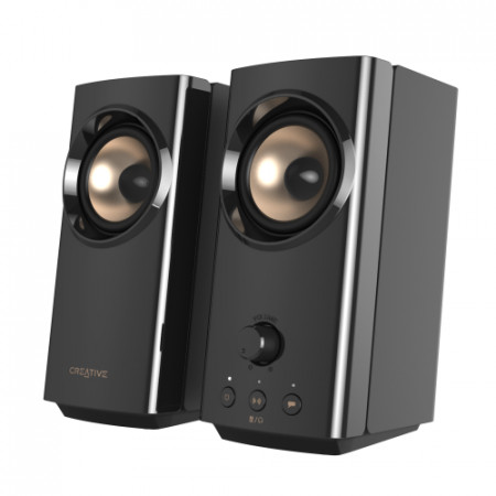 CREATIVE T60 Sound Blaster 2.0 USB-C Audio, BT 5.0, AUX-in/out