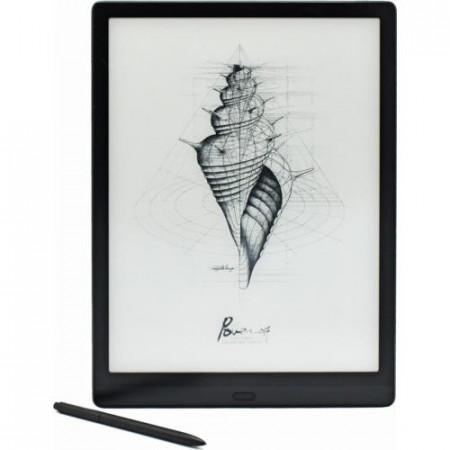 Tableta E-Ink Onyx Boox MAX LUMI, 13.3, 207 dpi E-ink Mobius Carta, Octa-Core, 4+64GB, Amprenta, Android 10, Negru