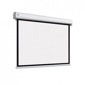 Adeo Electric Max One 5000 mm latime vizibila, disp in format 4:3, 16:10, 16:9, alb mat, fara margine neagra, incl telecomanda cu fir, optional margine neagra