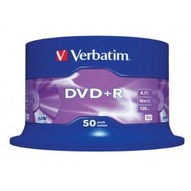 Verbatim DVD+R 16X SPINDLE 50