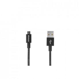 VERBATIM Micro B USB Cable Sync & Charge 100cm Black