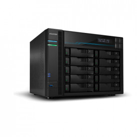 ASUSTOR NAS 10 Bay Intel ATOM C3538 QC 2.1GHz, 8GB, M2, USB 3.2