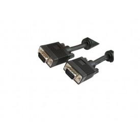 MediaRange SVGA Monitor Cable 15M, Black