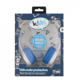 TNB STEREO HEADPHONE FOR KIDS-85DB BLUE