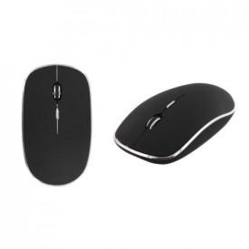 TNB USB-C wireless mouse - black/silver